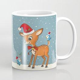 Vintage deer Coffee Mug