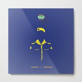 Guia Mayor - Master Guide Metal Print