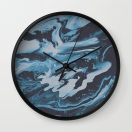 SLEEP ON THE FLOOR Wall Clock