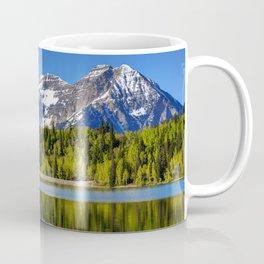 Mt. Timpanogos Reflected In Silver Flat Reservoir - Utah Coffee Mug