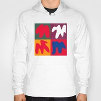 matisse Hoodies featuring M for Matisse by CHOCOLORS