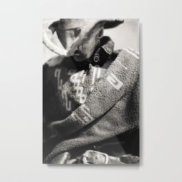 The Blind Cowboy • 10 Metal Print