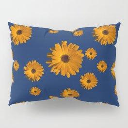 Orange power flower Pillow Sham