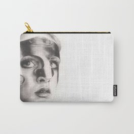 twiggy in mask... Carry-All Pouch