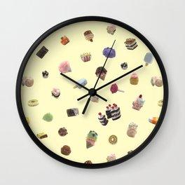 Felt Western Sweets Wall Clock