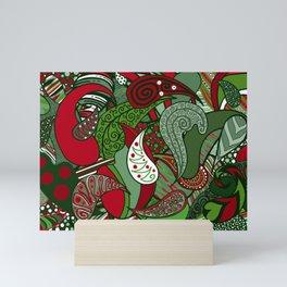 Have a Very Paisley Holiday Mini Art Print