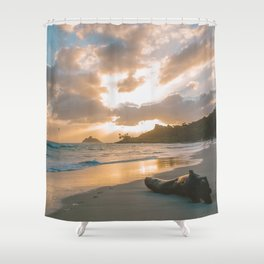 Kailua Beach Sunrise, North Shore Oahu Shower Curtain