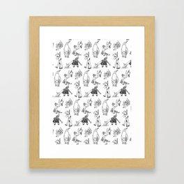 Modern Bestiary Framed Art Print