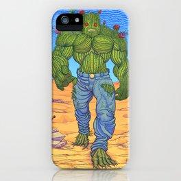 Cacto-humanoid iPhone Case