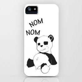"Little Panda ""Le Gourmand"" iPhone Case"