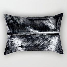 Black and White Feather | Feathers | Spiritual | Nadia Bonello | Canada Rectangular Pillow