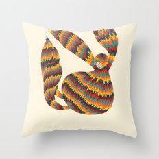 A Trifle High Throw Pillow