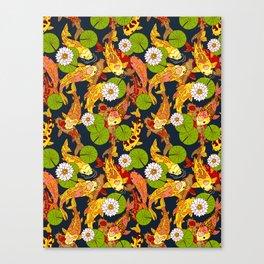 Bright Koi Canvas Print