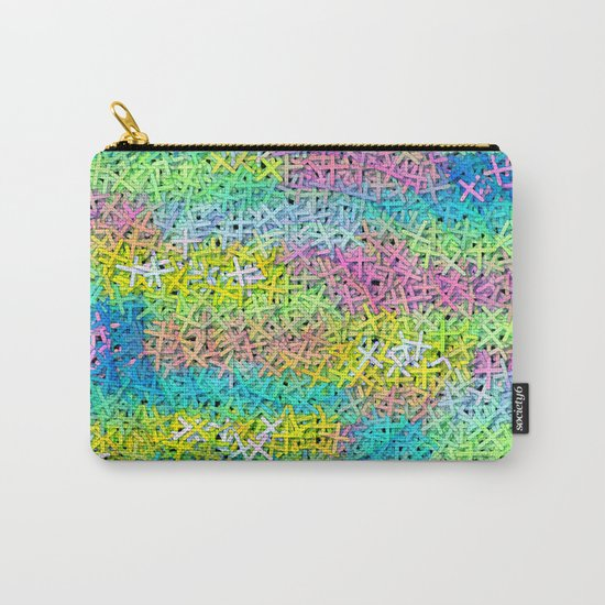A pile of colorful joy Carry-All Pouch