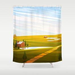 Feeling Autumn Shower Curtain