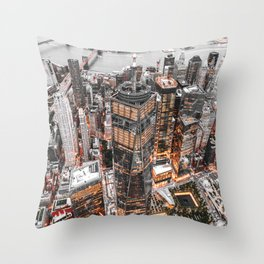 NEW YORK CITY XI Throw Pillow