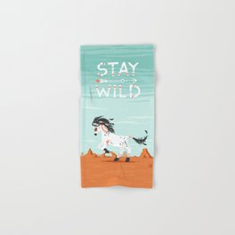 Stay Wild Hand & Bath Towel