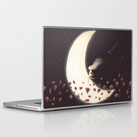 lunar Laptop & iPad Skins featuring Lunar Child by Annisa Tiara Utami