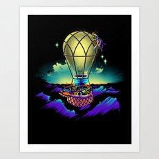 Light Flight Art Print