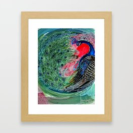 Emerald Dance | Limited Edition of 50 Prints Framed Art Print