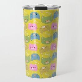 Happy Cats Travel Mug