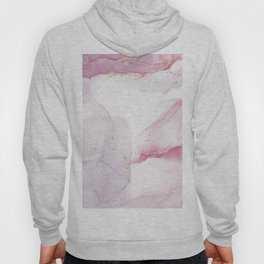 Abstract pink inks  Hoody