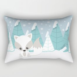 ARCTIC LANDSCAPE Rectangular Pillow