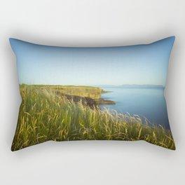 Summer eve Rectangular Pillow