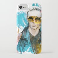 tom selleck iPhone & iPod Cases featuring Tom by Krister Selin