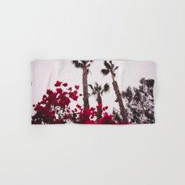 Malibu Red Hand & Bath Towel