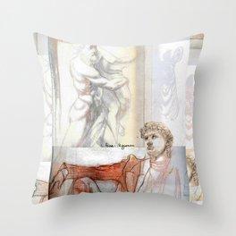 David & the Artifacts Throw Pillow