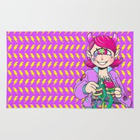 cyclops Area & Throw Rugs featuring Cyclops organs by Magnta