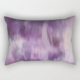 Purple Fusion Illustration Digital Camo Watercolor Blend Fluid Art Rectangular Pillow
