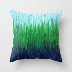 :: Sea Grass :: Throw Pillow
