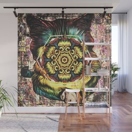 All-Seeing Cat Wall Mural
