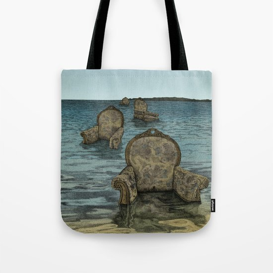 Alices Tears Tote Bag