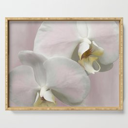 BLUSHING PINK ORCHIDS Serving Tray