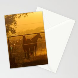 Morning In Canutillo Stationery Cards