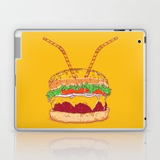 Burger for two Laptop & iPad Skin