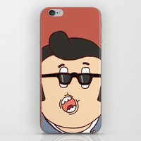 rockabilly iPhone & iPod Skins featuring Rockabilly by The Bad Artist