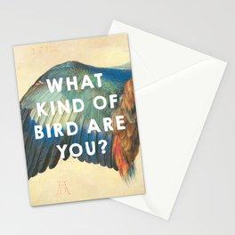 Wing of a Blue Roller (1512), Albrecht Durer // Moonrise Kingdom (2012), Wes Anderson Stationery Cards