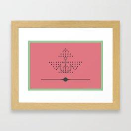 Sandia Boat Framed Art Print