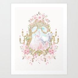 Unicorn Fairy Tale Enchantment Art Print