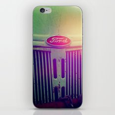 Sunset grill iPhone & iPod Skin