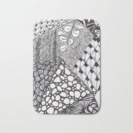Zen Doodle Graphics zz14 Bath Mat