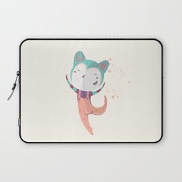 Dance Dreams (Cream) Laptop Sleeve