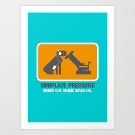 Dubplate Pressure 2003 Art Print