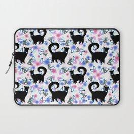 Retro Snobby Cats 1 Laptop Sleeve