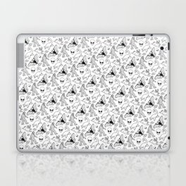 Cryptid Pattern: Ink Lines Laptop & iPad Skin