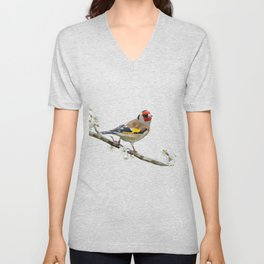 The Goldfinch Unisex V-Neck